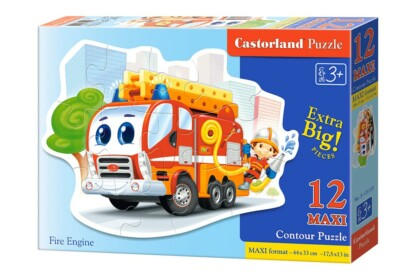 Castorland B-120109 - Tűzoltó - 12 db-os Maxi puzzle