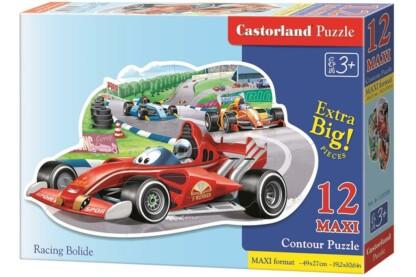 Castorland B-120208 - Autóverseny - 12 db-os Maxi puzzle