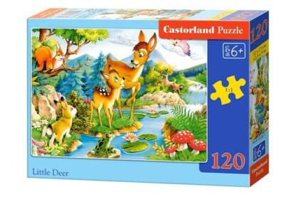 Castorland B-12725 - Kis őzike - 120 db-os puzzle