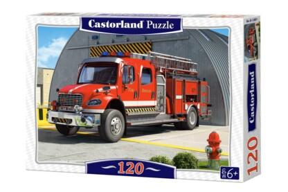 Castorland B-12831 - Tűzoltóautó - 120 db-os puzzle