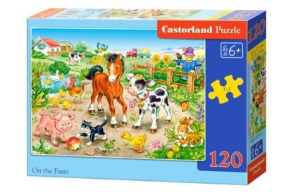 Castorland B-13197 - A farmon - 120 db-os puzzle