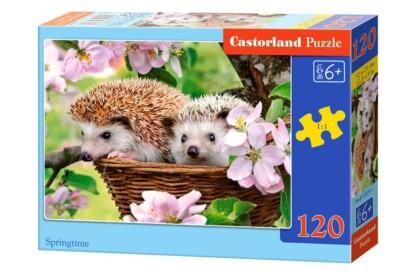 Castorland B-13319 - Tavaszi kikelet - 120 db-os puzzle