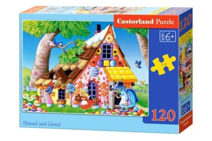Castorland B-13333 - Jancsi és Juliska - 120 db-os puzzle