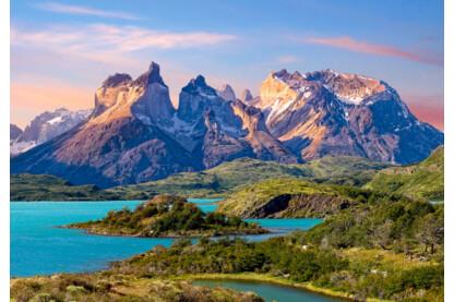 Castorland C-150953 - Torres del Paine, Patagónia, Chile - 1500 db-os puzzle
