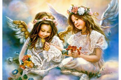 Castorland C-151394 - Ajándék egy angyaltól - 1500 db-os puzzle