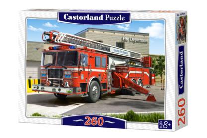 Castorland B-27040 - Tűzoltóautó - 260 db-os puzzle