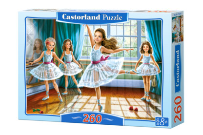 Castorland B-27231 - Kis balerinák - 260 db-os puzzle