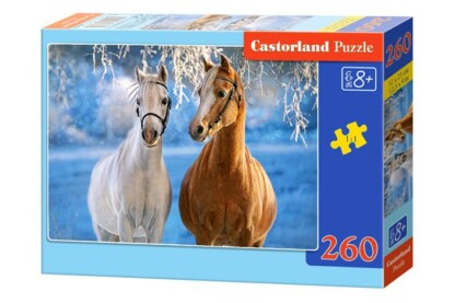 Castorland B-27378 - Lovak télen - 260 db-os puzzle