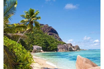 Castorland C-300228 - Trópusi tengerpart, Seychelles - 3000 db-os puzzle