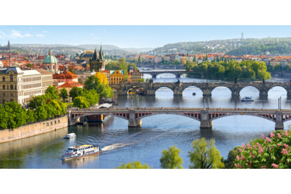 Castorland C-400096 - Vltava híd, Prága - 4000 db-os puzzle