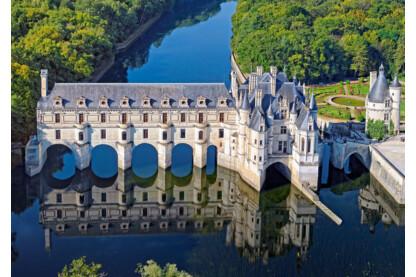 Castorland B-52103 - Chenonceau kastély, Franciaország - 500 db-os puzzle
