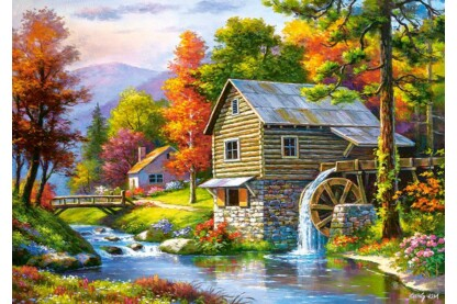 Castorland B-52691 - Old Sutter's Mill - 500 db-os puzzle