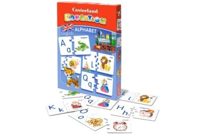Castorland E-043 - Keresd a párját játék - Angol ABC