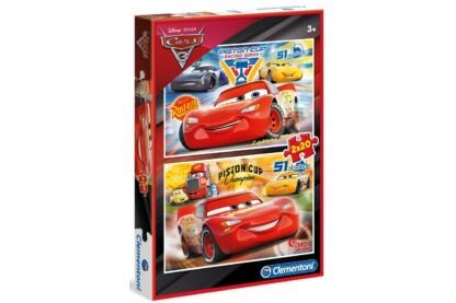 Clementoni 07027 - Verdák 3 - 2 x 20 db-os puzzle