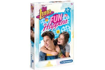 Clementoni 07339 - Soy Luna - Fun Happens - 180 db-os puzzle