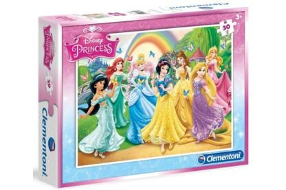 Clementoni 08503 - Disney Princess - Pillangók - 30 db-os puzzle