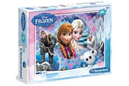 Clementoni 08504 - Jégvarázs - Az északi hegyvidék királynője - 30 db-os puzzle