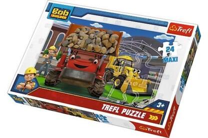 Trefl 14246 - Bob, az építő- 24 db-os Maxi puzzle