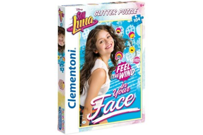 Clementoni 20137 - Soy Luna - Feel the Wind in Your Face - 104 db-os Csillámos puzzle