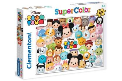 Clementoni 26951 - Disney - Tsum Tsum - 60 db-os Szuper Színes  puzzle