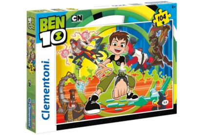 Clementoni 27082 - Trollok - Ben 10 - 104 db-os Szuper Színes puzzle
