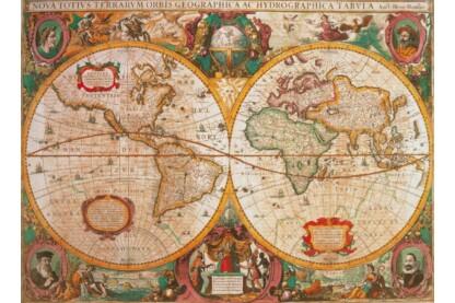 Clementoni 31229 - Antik térkép - 1000 db-os puzzle