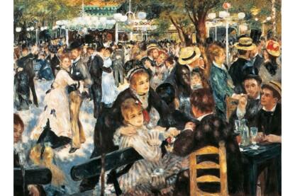 Clementoni 31412 - Museum Collection - Renoir - Bál a Montmartre-n - 1000 db-os puzzle
