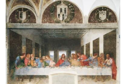 Clementoni 31447- Museum Collection - Da Vinci - Az utolsó vacsora - 1000 db-os puzzle