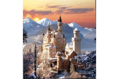 Clementoni 31925 - Neuschwanstein kastély - 1500 db-os puzzle