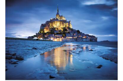Clementoni 31994 - Mont Saint Michel, Franciaország - 1500 db-os puzzle