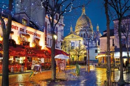 Clementoni 31999 - Montmartre, Párizs - 1500 db-os puzzle