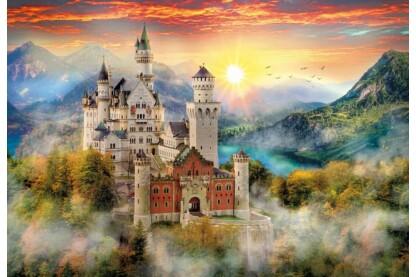 Clementoni 32559 - Neuschwanstein kastély - 2000 db-os puzzle