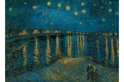 Clementoni 39344 - Museum Collection - Van Gogh - Csillagos éj a Rhone fölött - 1000 db-os puzzle
