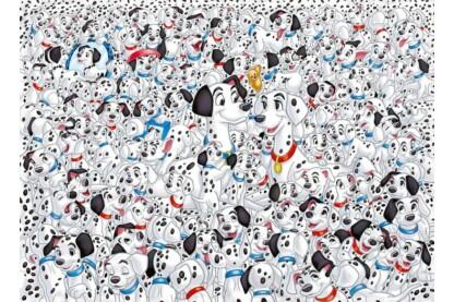 Clementoni 39358 - A lehetetlen puzzle - 101 kiskutya - 1000 db-os puzzle