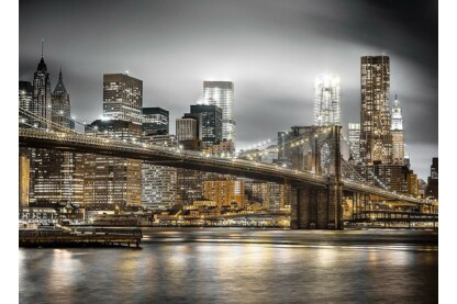 Clementoni 39366 - A Brooklyn híd éjjel, New York  - 1000 db-os puzzle