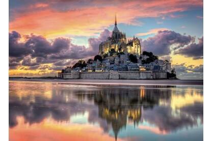 Clementoni 39367 - Mont-Saint-Michel - 1000 db-os puzzle