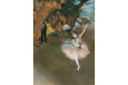 Clementoni 39379 - Museum Collection - Degas - Táncosnő a színpadon - 1000 db-os puzzle