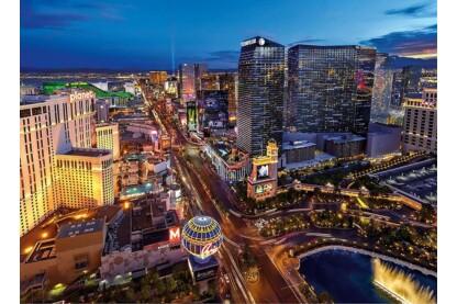 Clementoni 39404 - Las Vegas - 1000 db-os VR puzzle + 3D VR szemüveg