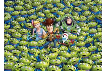 Clementoni 39499 - A lehetetlen puzzle - Toy Story 4 - 1000 db-os puzzle