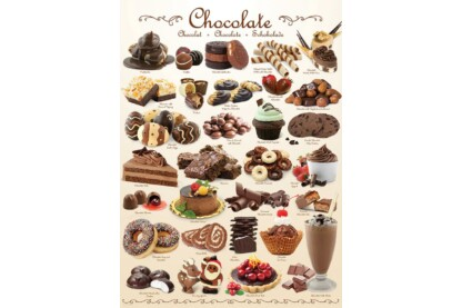EuroGraphics 6000-0411 - Chocolate - 1000 db-os puzzle