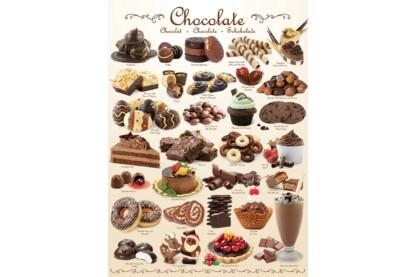 EuroGraphics 6000-0411 - Chocolate - 1000 db-os puzzle