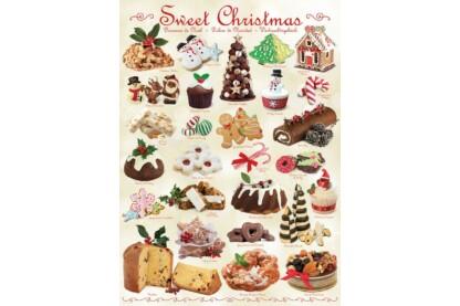 EuroGraphics 6000-0433 - Sweet Christmas - 1000 db-os puzzle