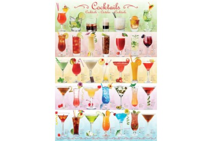 EuroGraphics 6000-0588 - Cocktails - 1000 db-os puzzle