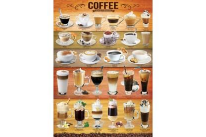 EuroGraphics 6000-0589 - Coffee - 1000 db-os puzzle
