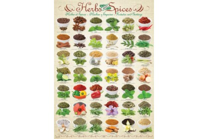 EuroGraphics 6000-0598 - Herbs and Spices - 1000 db-os puzzle