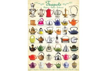 EuroGraphics 6000-0599 - Teapots - 1000 db-os puzzle