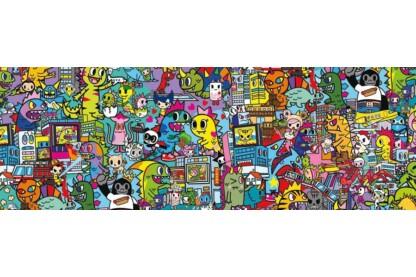 Clementoni 1000 db-os Panoráma puzzle - Tokidoki (39568)