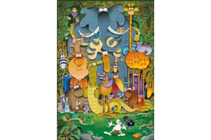 Clementoni 29204 - Mordillo - A kép - 180 db-os puzzle