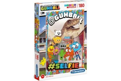 Clementoni 29765 - Gumball csodálatos világa - 180 db-os puzzle