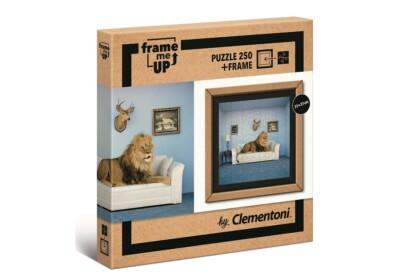 Clementoni 38500 - A ház ura - 250 db-os puzzle képkerettel